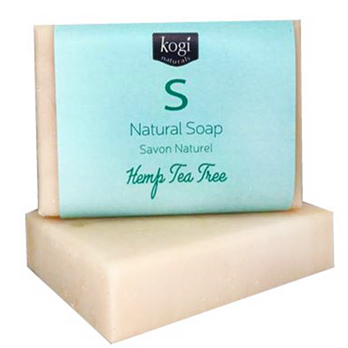 Natural Soap - Hemp Tea Tree Complexion Bar