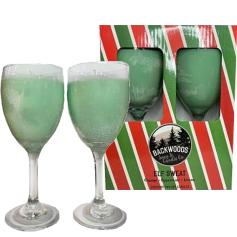 Elf Sweat Wine Glass Set