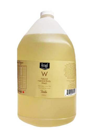 Bulk Vanilla Body Wash 4L