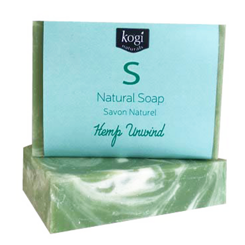 Natural Soap - Hemp Unwind