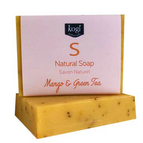Natural Soap- Mango & Green Tea