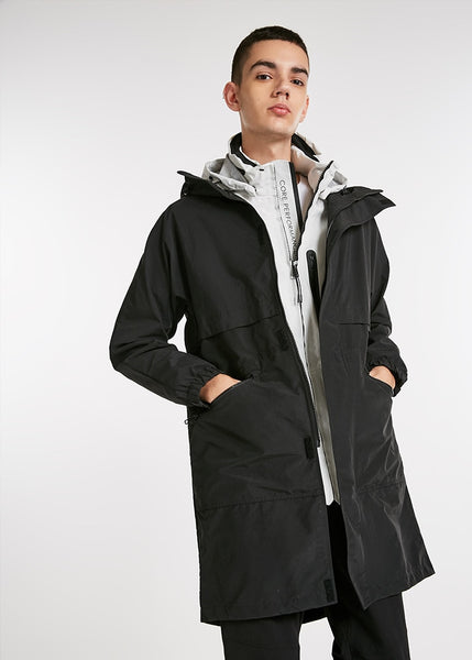 Billy - Hooded Zip Coat