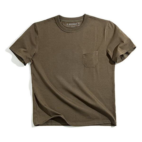 Adam - Basic Round Neck Cotton Tee
