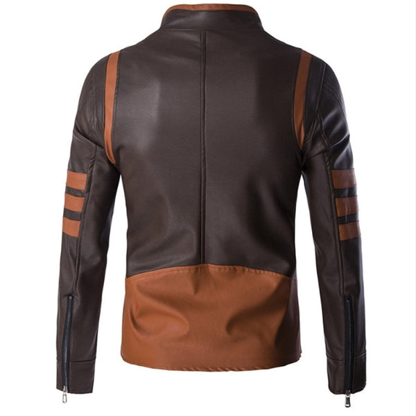 Logan - Casual Leather Jacket