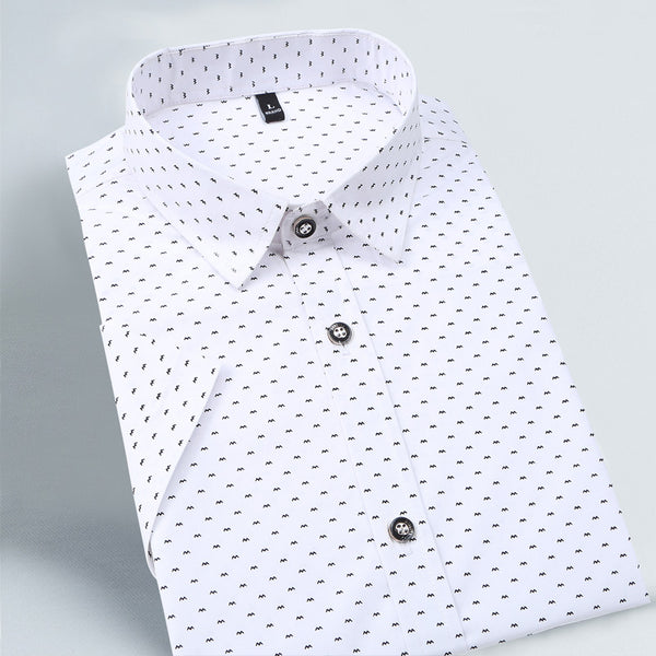 Reece - Dotted Cotton Shirt