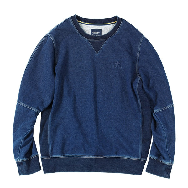 Miles - Round Neck Vintage Sweater