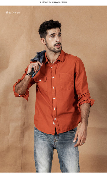 Austin - Cotton Collared Shirt