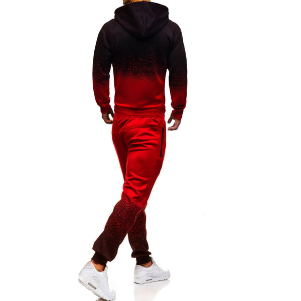 Monty - Color Blend Jacket & Sweat Pants