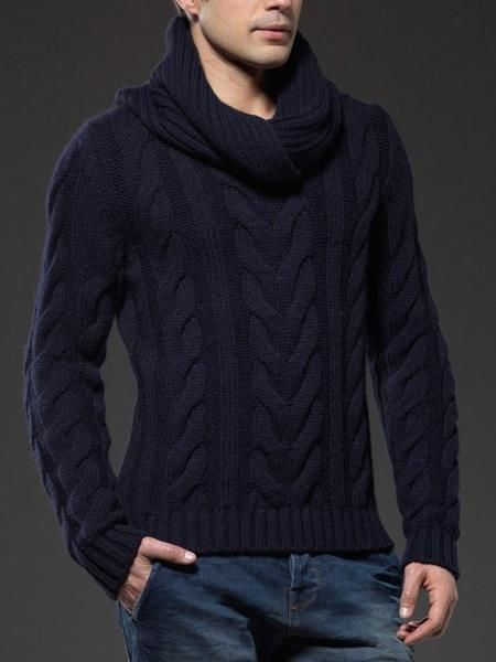 Holden - Soft Knitted High Neck Sweater