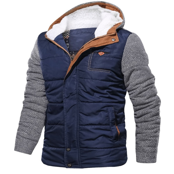 Hubert - Thick Casual Hooded Jacket
