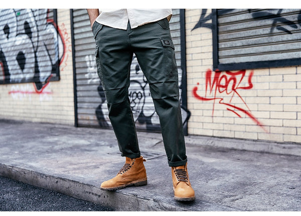 Rowan - Cropped Cargo Pants