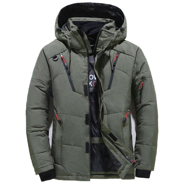 Owen - Thick Casual Hooded Jacket