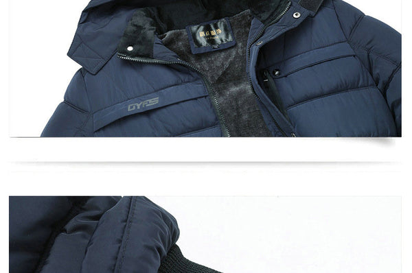 Ivan - Thick Hooded Winter Jacket