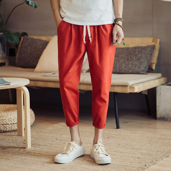 Von - Ankle-Length Baggy Pants