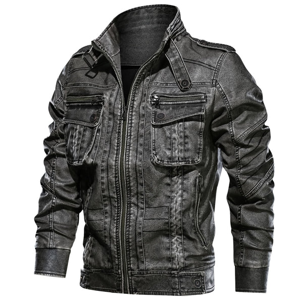 Melvin - Casual Motorcycle Pocket Jacket