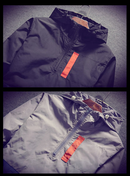 Lazarus - Waterproof Hooded Jacket with Pockets