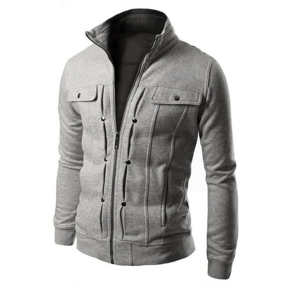 Bond - Men's Zipper Hoodie