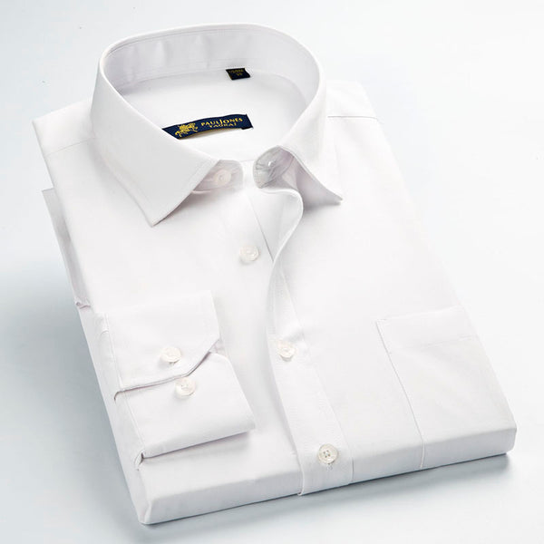 Non-Iron Classic Collared Shirt