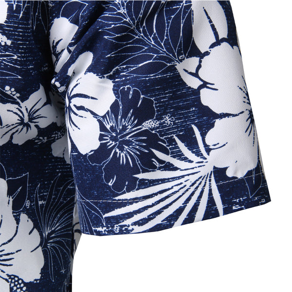 Oscar - Floral Hawaiian Collared Shirt