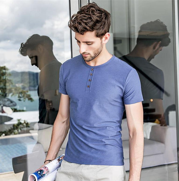Casual Cotton O-Neck T-Shirt