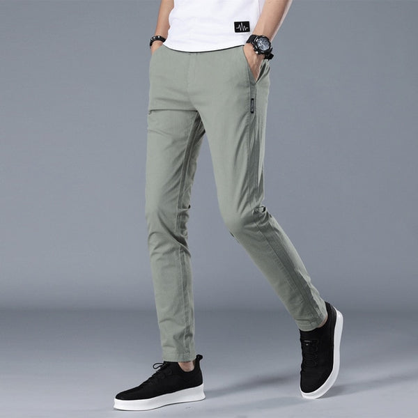 Nelson - Straight Leg Trousers