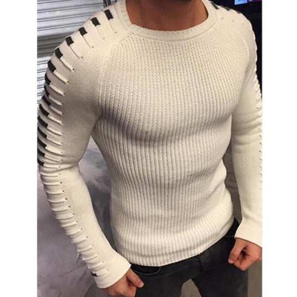 Custer - O-Neck Knitted Slim Fit Pullover