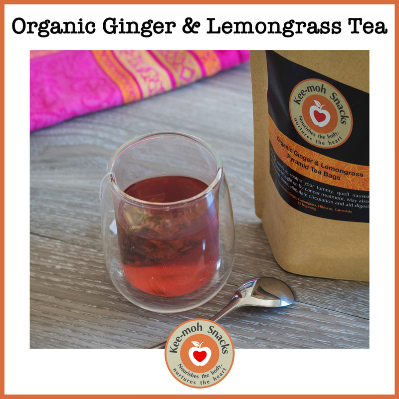 Organic Ginger & Lemongrass Tea