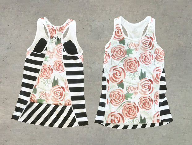 Radiant Roses Cycling Kit (Tank)