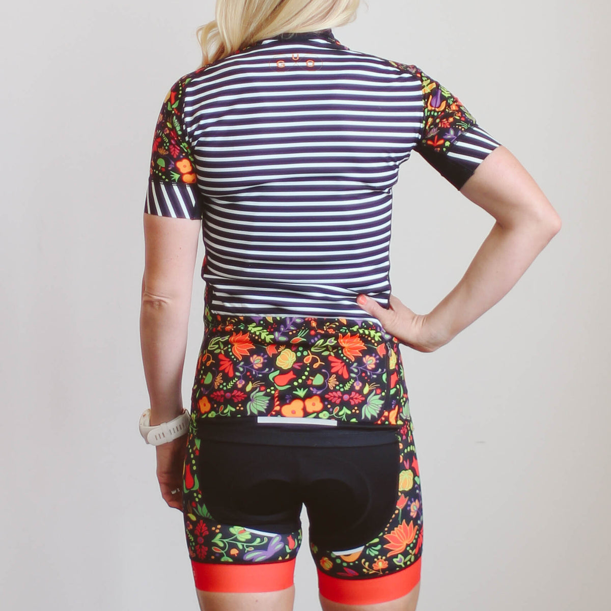 Whimsical Floral Cycling Kit ((Long))