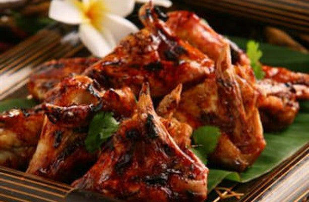 Chicken wings in sweet soy sauce