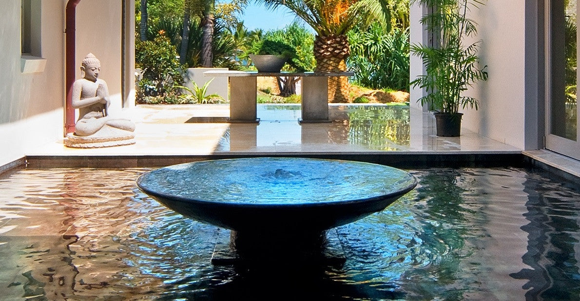 Add Serenity With A Water Feature Or Water Fountain Bali