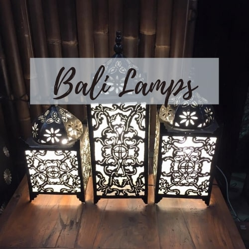 Balinese Styled Lamps