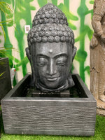 Balinese 85cm Buddha Head Water Feature