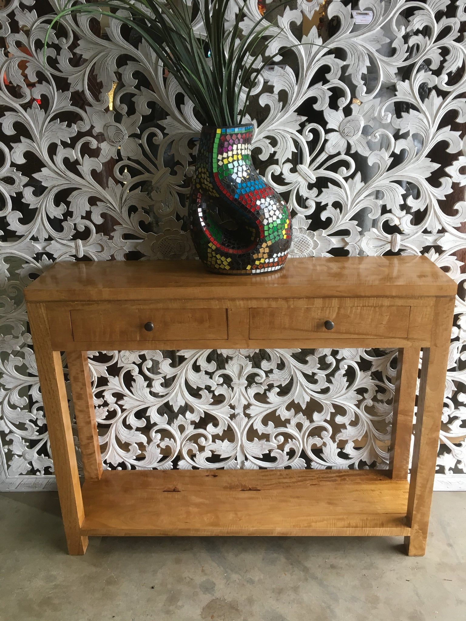 Fruitwood Console Table 10067 Bali Mystique