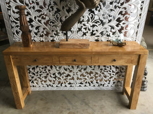 Fruitwood Console table