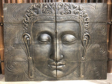 2 Piece Buddha Face wall Plaque #10082