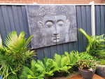 2 Piece Buddha Face wall Plaque
