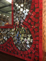 Hand Crafted Mosaic Mirror