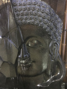 Terrazzo Abstract Buddha Face Water Feature #10093