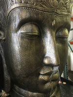 Balinese Half Round Buddha Face Water Feature