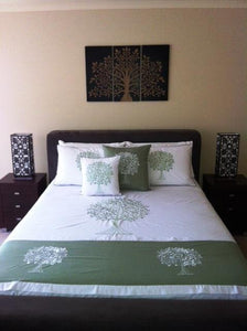 Queen Tree of life Doona Cover and pillow case set