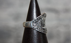 Silver Dress Ring 10120