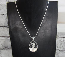 Oval tree Of Life Pendant and Chain