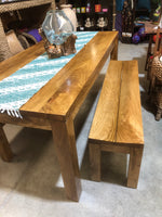 Nordic Dining Table and Bench Seats
