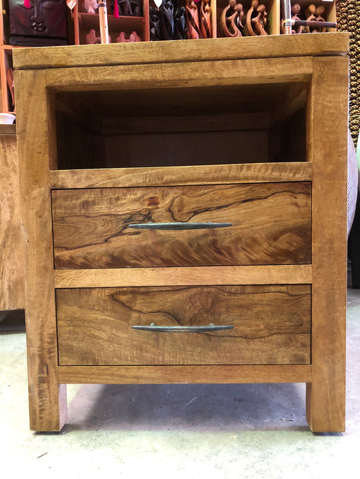 Fruitwood bedside Table