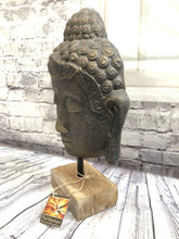 Small Buddha Head on Stand