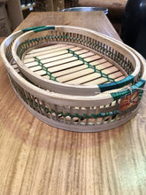 Oval Bamboo Serving Trays
