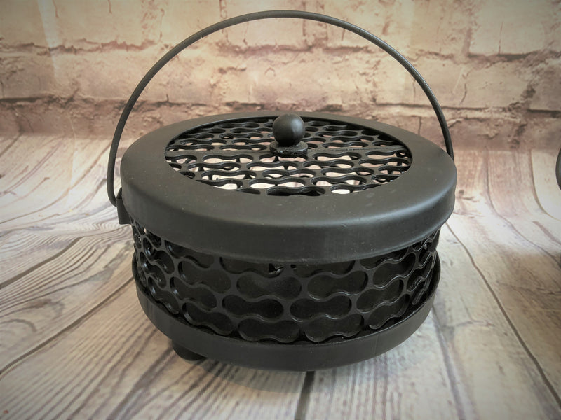 Black Mosquito Coil Holders