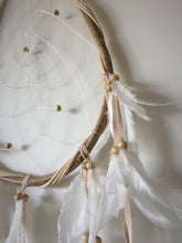 Boho Bead and Rattan Dream Catcher