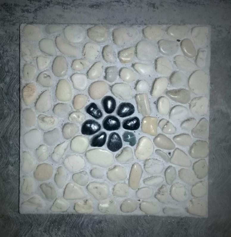 Bali Pavers Stepping Stones with Flower design